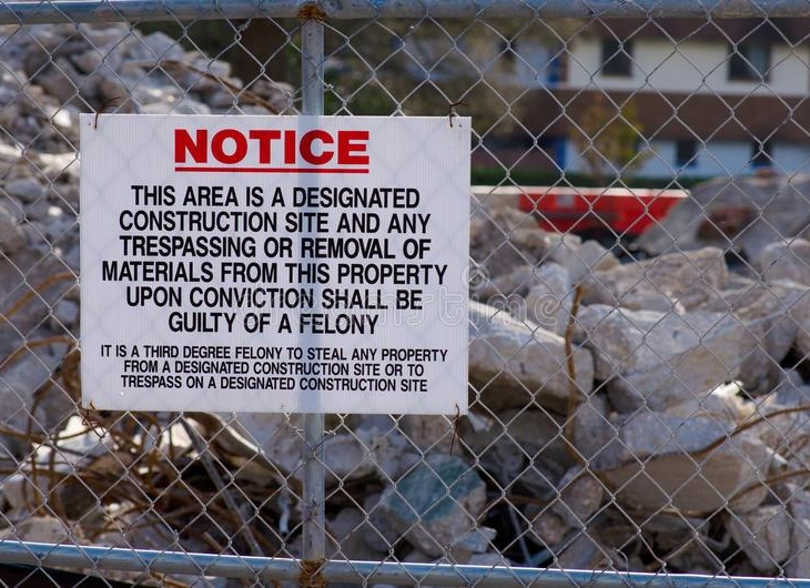 How to Protect Your Construction Site from Theft?